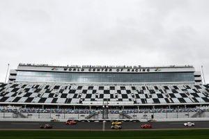 Renn-Action der GTLM-Klasse der IMSA auf dem Daytona International Speedway
