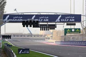 Start/finish in Bahrein