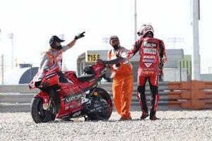 Jack Miller, Ducati Team crash