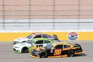 Riley Herbst, Stewart-Haas Racing, Ford Mustang South Point, Jeb Burton, Kaulig Racing, Chevrolet Camaro ALSCO UNIFORMS