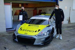 Vito Postiglione, Edoardo Morricone, Audi Sport Team Italia, Audi R8 LMS GT3 Evo