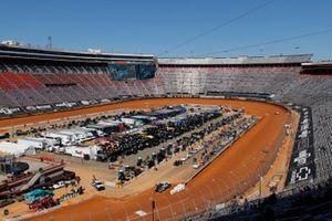 Vista general de la pista antes de la carrera