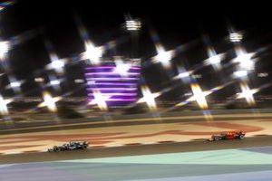 Lance Stroll, Aston Martin AMR21, Sergio Perez, Red Bull Racing RB16B