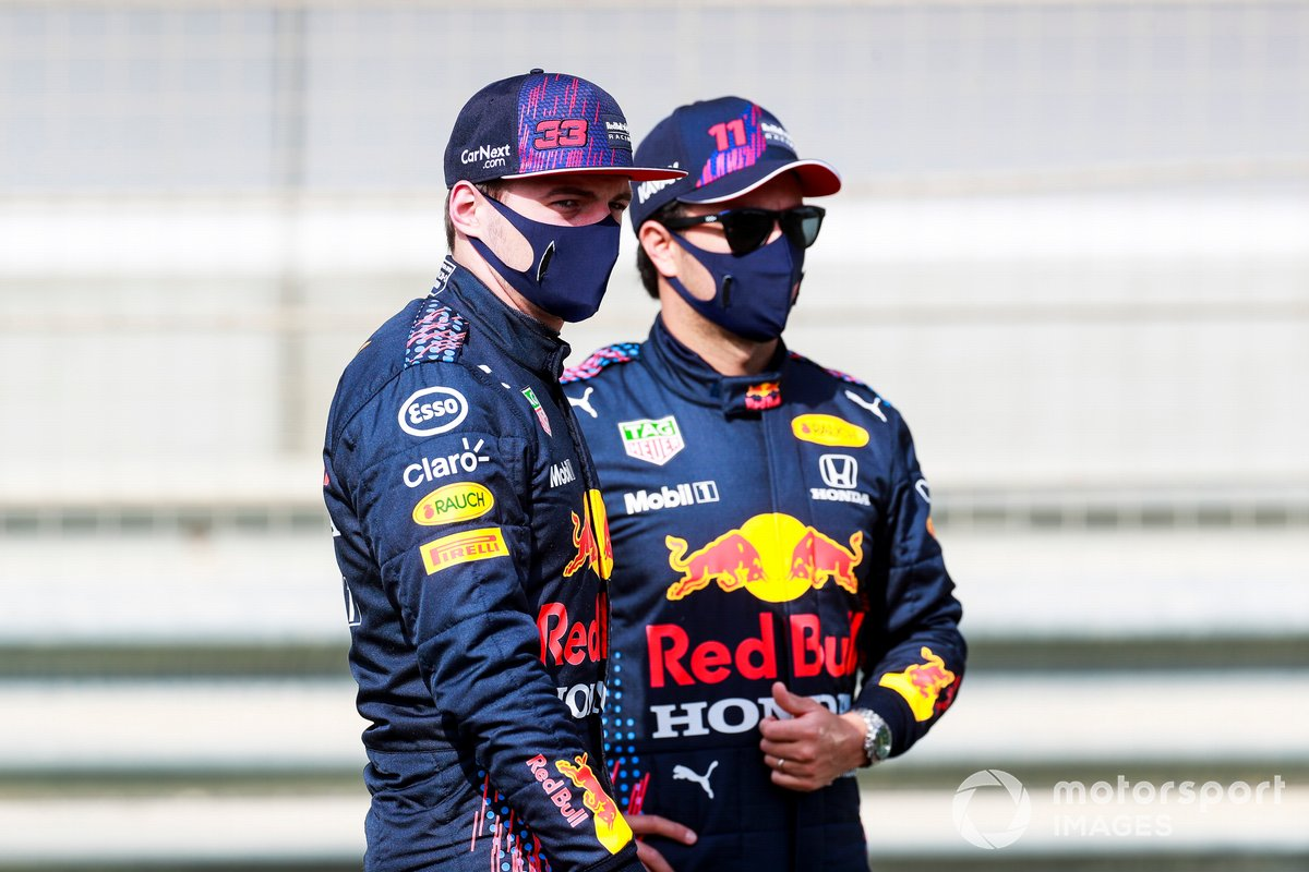 Max Verstappen, Red Bull Racing e Sergio Perez, Red Bull Racing
