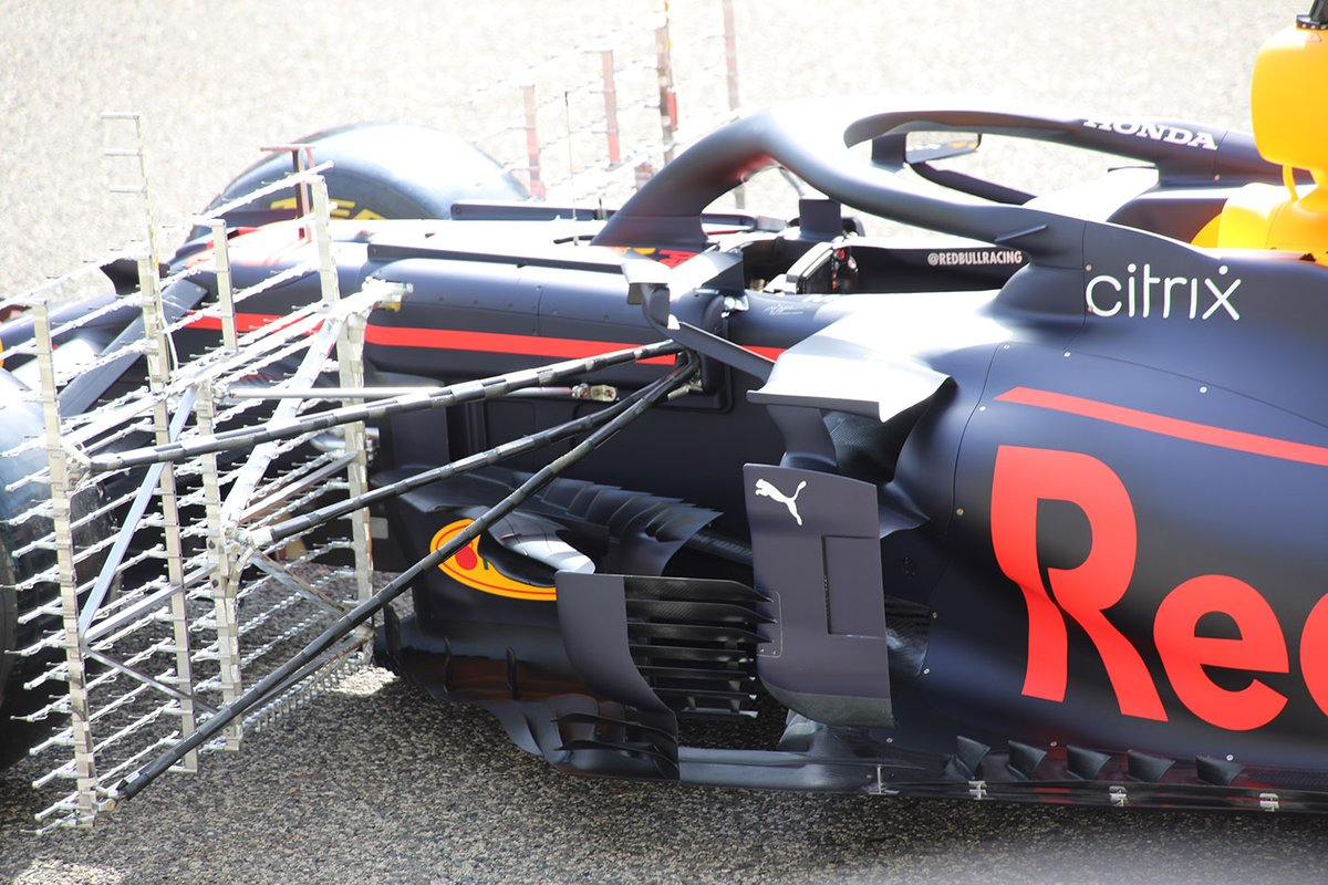 Red Bull RB16B detail