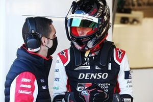 #8 Toyota Gazoo Racing Toyota GR010 - Hybrid: Sebastien Buemi, Brendon Hartley