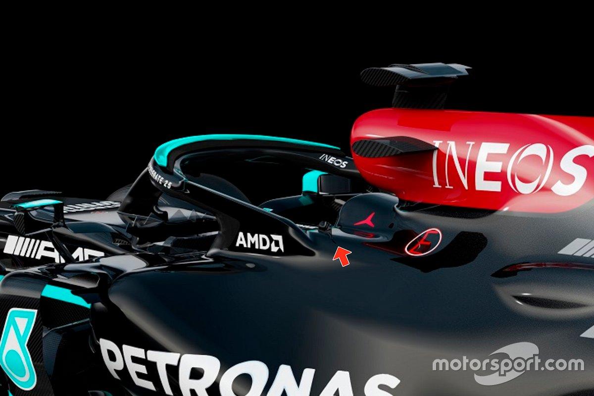 Mercedes AMG F1 W12 halo