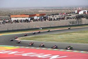 Jonathan Rea, Kawasaki Racing Team WorldSBK, Toprak Razgatlioglu, PATA Yamaha WorldSBK Team, Axel Bassani, Motocorsa Racing, Scott Redding, Aruba.It Racing - Ducati