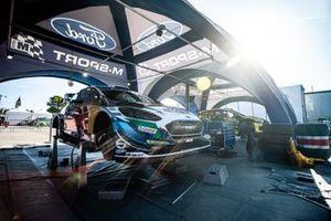 Car of Adrien Fourmaux, Alexandre Coria, M-Sport Ford WRT Ford Fiesta WRC