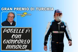 Pagelle F1 con Giancarlo Minardi: GP di Turchia