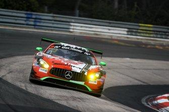 #23 Team GetSpeed Performance Mercedes-AMG GT3: Janine Hill, John Shoffner, Fabian Schiller