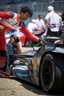 Pascal Wehrlein, Mahindra Racing on the grid