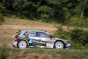 Giandomenico Basso, Lorenzo Granai, skoda Fabia R5, Rally di Roma Capitale, FIA ERC