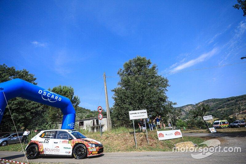 Crugnola Andrea, Ometto Pietro Elia, Skoda Fabia R5, FIA ERC, Rally di Roma Capitale