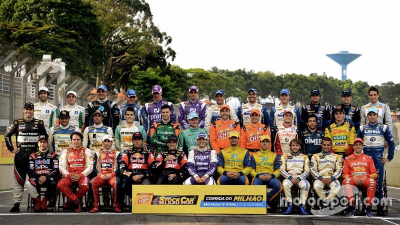 Pilotos da Corrida do Milhão de 2013. Reconhece todos?