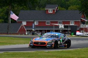 #74 Lone Star Racing Mercedes-AMG GTD: Gar Robinson V, Lawson Aschenbach