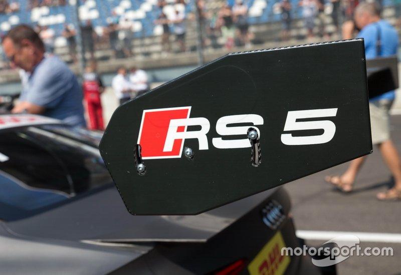 Parte del coche de Mike Rockenfeller, Audi Sport Team Phoenix, Audi RS 5 DTM