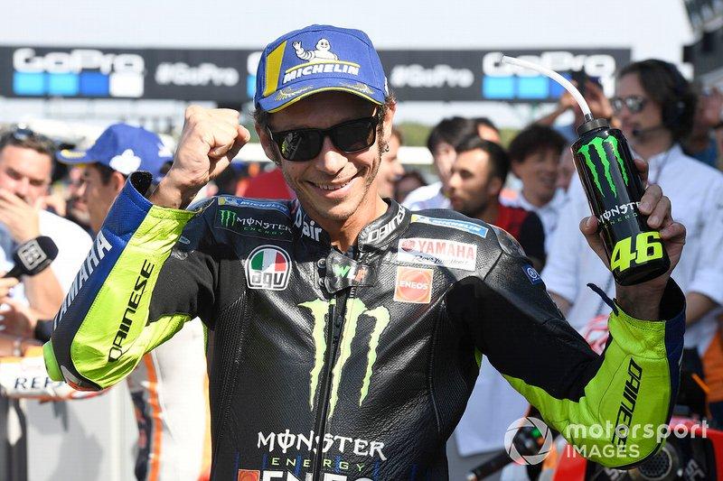 Segundo Valentino Rossi, Yamaha Factory Racing