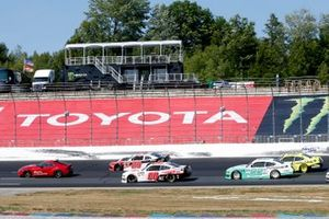 Toyota Supra pace car, Cole Custer, Stewart-Haas Racing, Ford Mustang Haas Automation Austin Cindric, Team Penske, Ford Mustang MoneyLion Christopher Bell, Joe Gibbs Racing, Toyota Supra Rheem-Watts
