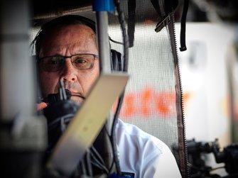 Felix Rosenqvist, Chip Ganassi Racing Honda, Barry Wanser