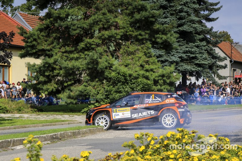 Alexey Lukyanuk, Alexey Arnautov, Citroen C3 R5, Barum Czech Rally Zlin, FIA ERC