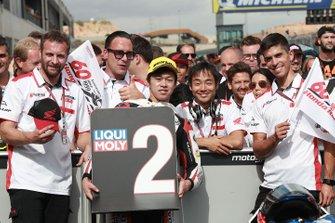 Ai Ogura, Honda Team Asia, deuxième des qualifications