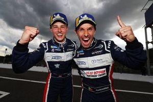 Ganador de la carrera #22 United Autosports Ligier JSP217 Gibson: Philip Hanson, Filipe Albuquerque