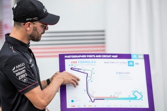 Jose Maria Lopez, Dragon Racing points at track map
