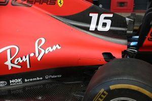 Charles Leclerc, Ferrari SF90 rear detail