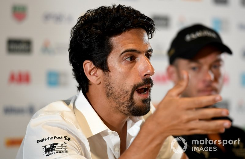 Lucas Di Grassi, Audi Sport ABT Schaeffler in the press conference