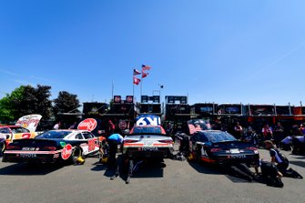 Christopher Bell, Joe Gibbs Racing, Toyota Supra Rheem, Kyle Busch, Joe Gibbs Racing, Toyota Supra iK9, Brandon Jones, Joe Gibbs Racing, Toyota Supra First Foundation