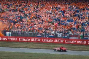 Sebastian Vettel, Ferrari SF90, in the drivers parade