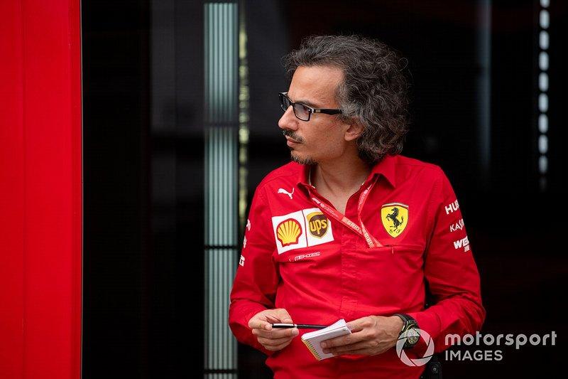 Laurent Mekies, directeur sportif de Ferrari