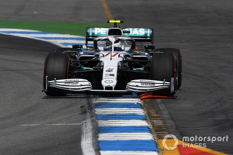 3 - Valtteri Bottas, Mercedes AMG W10 - 1'12.129