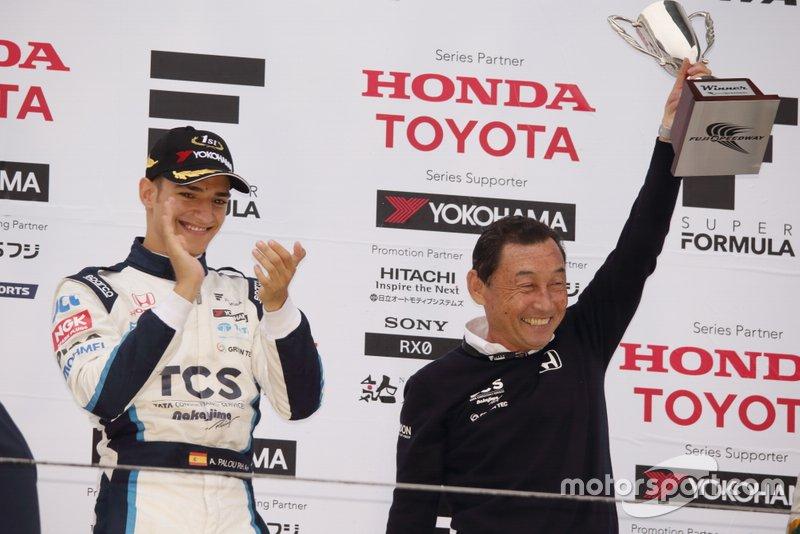 Alex Palou, TCS NAKAJIMA RACING Y Satoru Nakajima