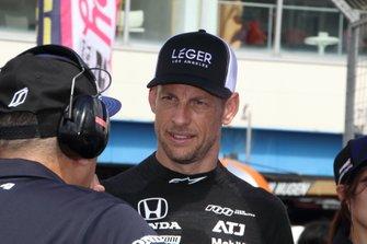 #1 Team Kunimitsu Honda NSX-GT: Jenson Button
