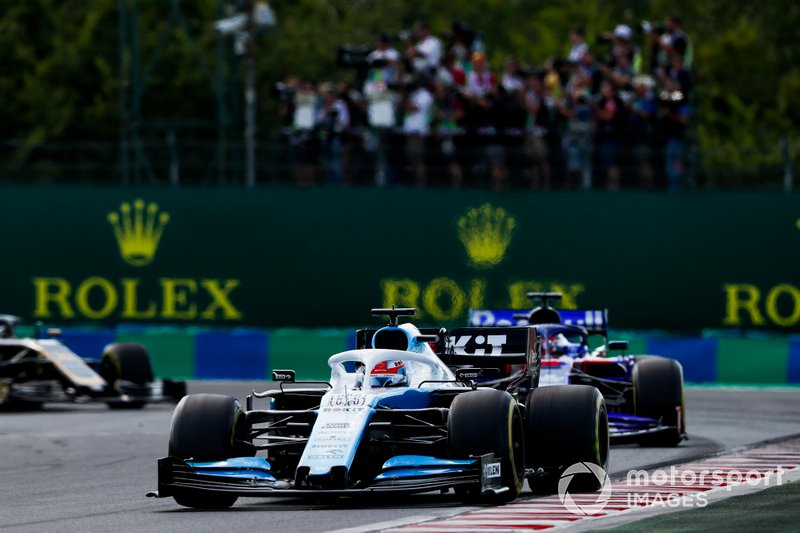 George Russell, Williams Racing FW42, Daniil Kvyat, Toro Rosso STR14
