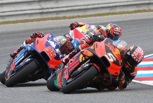 Johann Zarco, Red Bull KTM Factory Racing, Hafizh Syahrin, Red Bull KTM Tech 3, Stefan Bradl, Repsol Honda Team