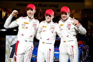 1. #25 Audi Sport Team WRT Audi R8 LMS GT3 Evo: Dries Vanthoor, Kelvin van der Linde, Frédéric Vervisch