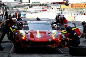 #8 APR with ARN racing Ferrari 488 GT3: Hiroaki Nagai, Manabu Orido, Yuta Kamimura