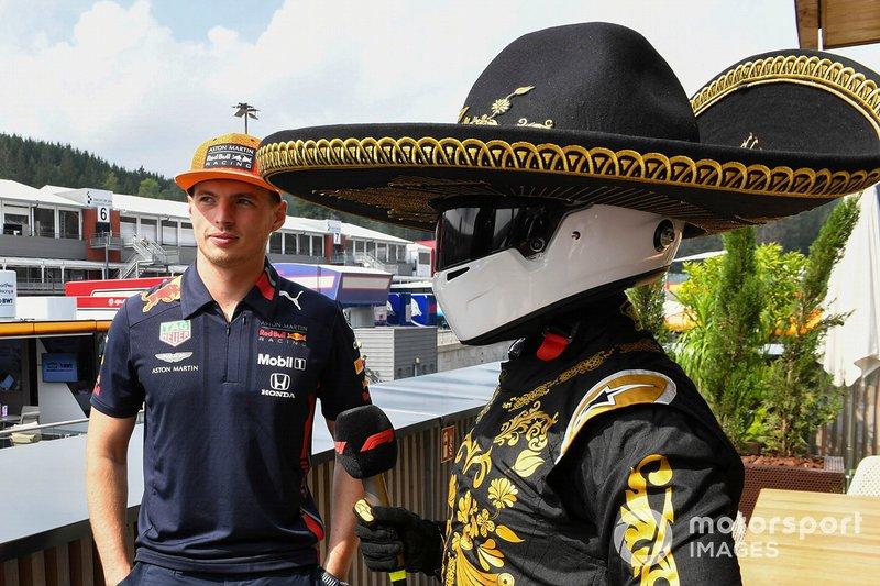 Max Verstappen, Red Bull Racing con Mario Achi