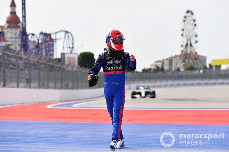 Daniil Kvyat, Toro Rosso, fermo in FP1
