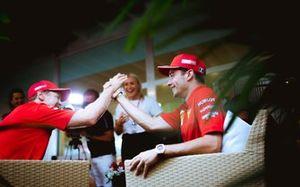 Шарль Леклер и Себастьян Феттель, Ferrari