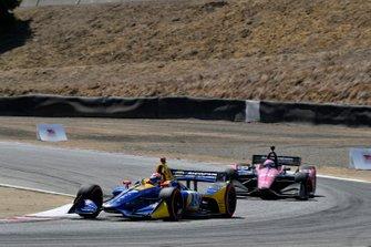 Alexander Rossi, Andretti Autosport Honda, Jack Harvey, Meyer Shank Racing with Arrow SPM Honda