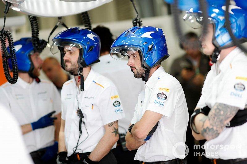 McLaren members at work