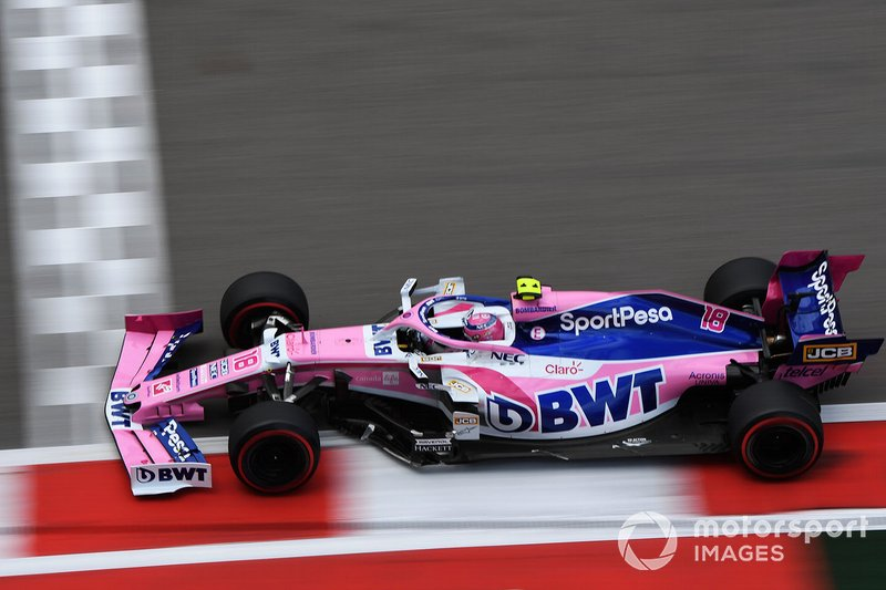 14º: Lance Stroll, Racing Point RP19
