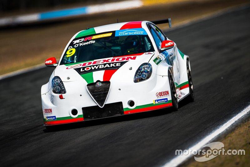 Dylan O'Keeffe, Ashley Seward Motorsport Alfa Romeo Giulietta