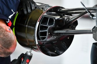 Red Bull Racing RB15 brake duct