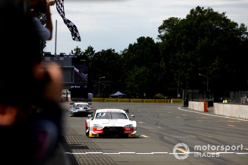 Race winner René Rast, Audi Sport Team Rosberg, Audi RS 5 DTM