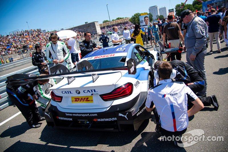 Grid, Joel Eriksson, BMW Team RBM, BMW M4 DTM